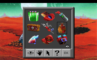 Space Quest I: Roger Wilco in the Sarien Encounter DOS Your inventory