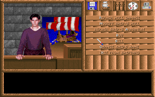 Spelljammer: Pirates of Realmspace DOS Waterdeep - Harbormaster. Refit and repair your damaged ship.