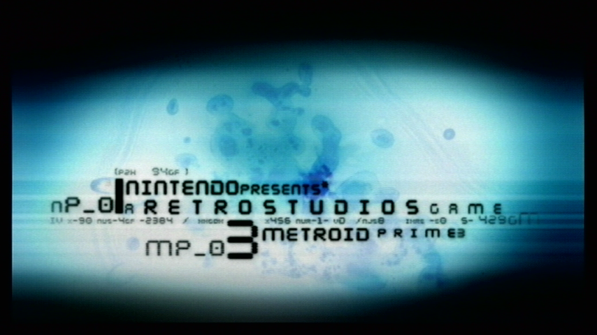 Metroid Prime 3: Corruption Wii Part of the game introduction / titles