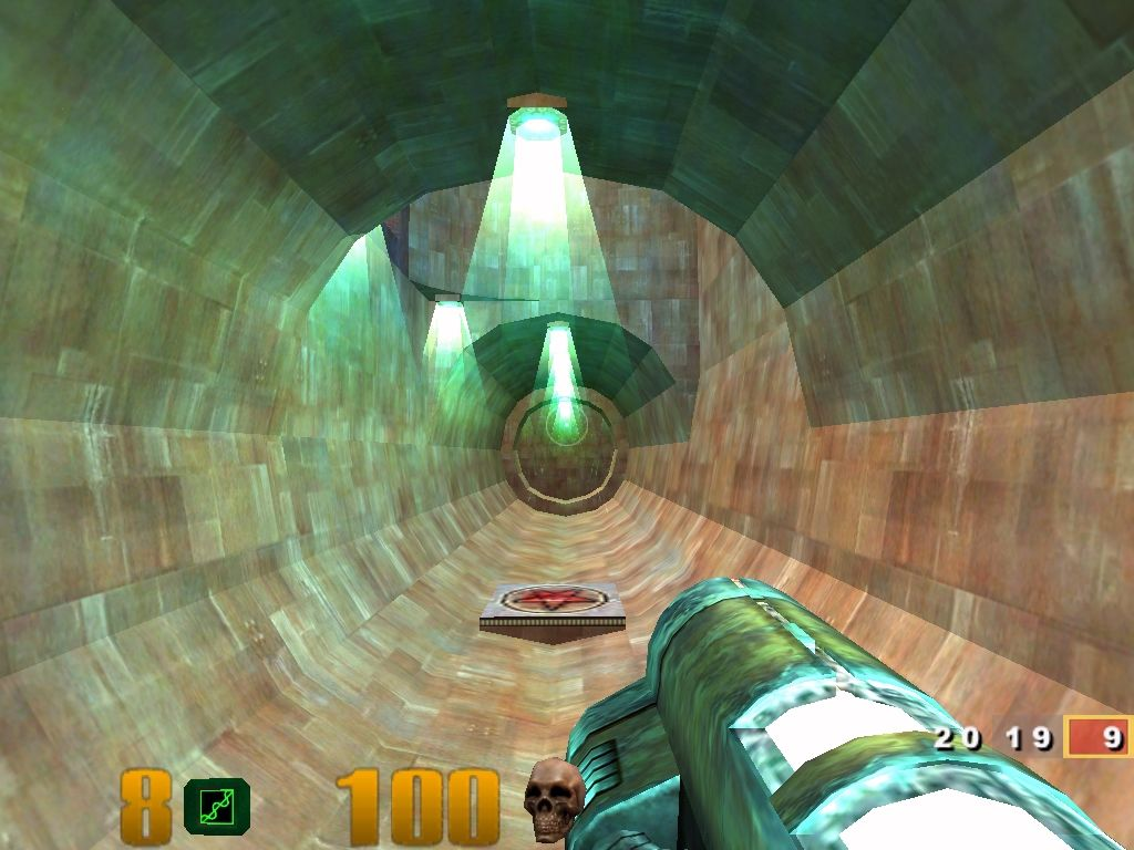 Quake III: Arena Windows Swimming through a duct