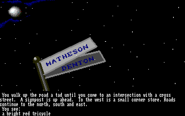 The Twilight Zone Amiga Signpost