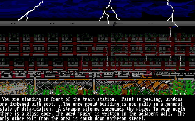 The Twilight Zone Amiga Train station