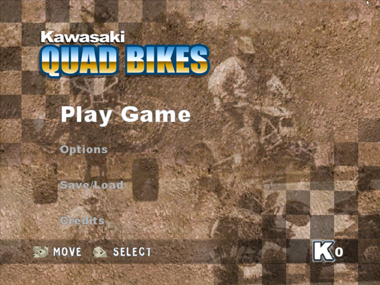 Kawasaki Quad Bikes Windows Title Screen