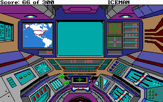 Code-Name: Iceman DOS At the controls of the sub