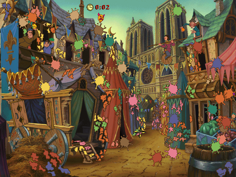 Disneys The Hunchback Of Notre Dame 5 Topsy Turvy Games