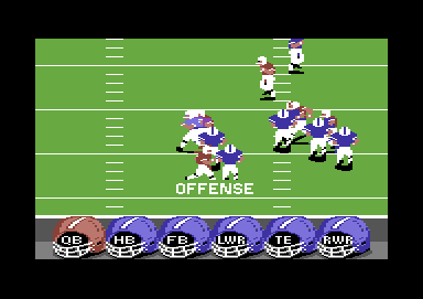 ABC Monday Night Football Commodore 64 Offense