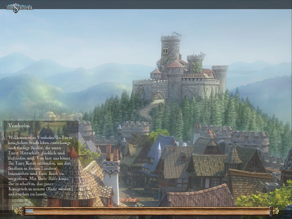 The Settlers: Rise of an Empire Windows Loading Screen