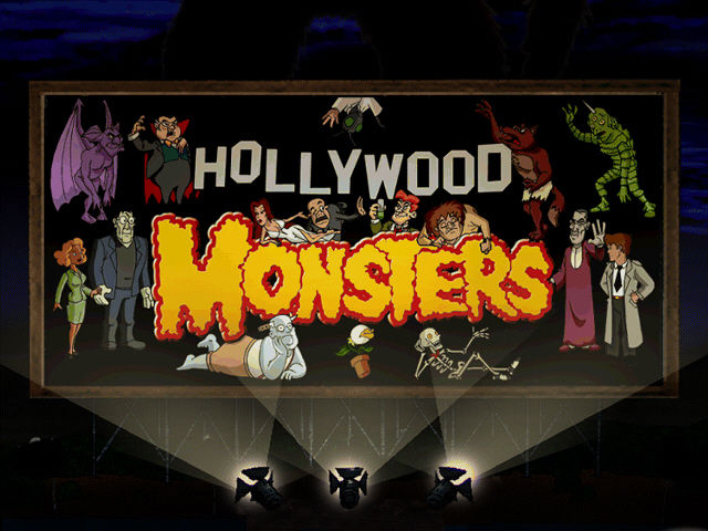 Hollywood Monsters Windows Title screen