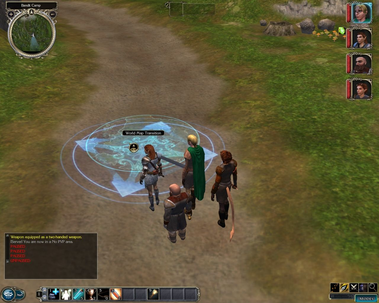 Neverwinter nights 2 screenshots for windows mobygames neverwinter nights 2 windows world map jump point gumiabroncs Image collections