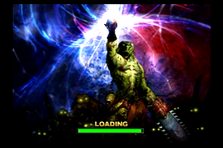 Unreal Tournament PlayStation 2 Domination loading screen
