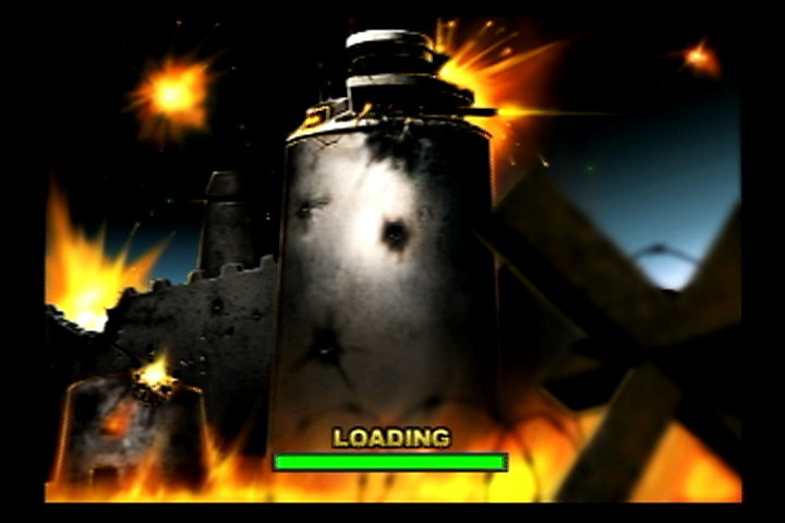 Unreal Tournament PlayStation 2 Assault loading screen