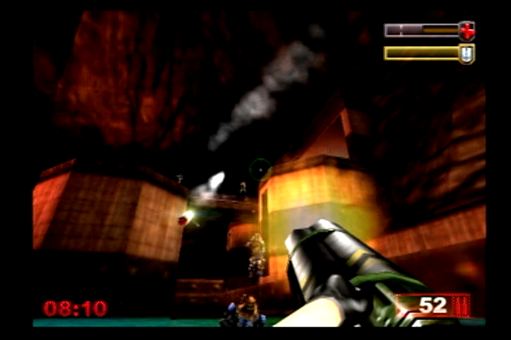 Unreal Tournament PlayStation 2 Looks like I'm a little outnumbered.