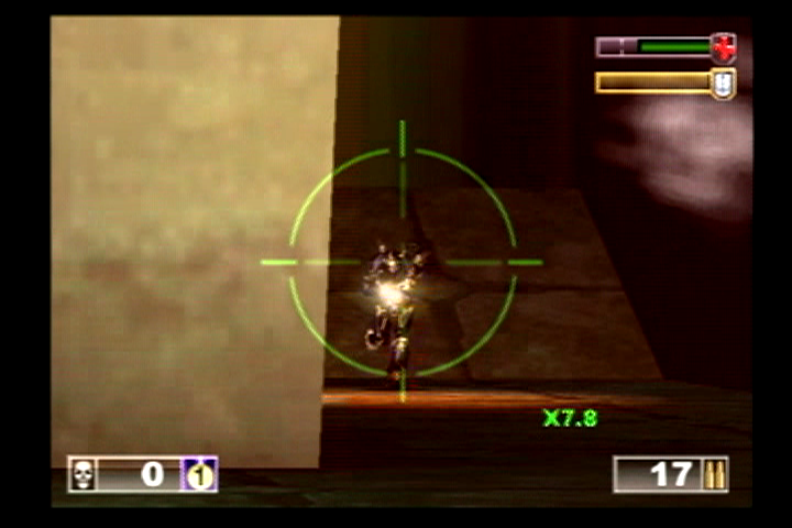 Unreal Tournament PlayStation 2 Sniping brings lots of joy!