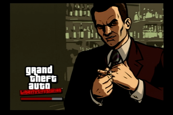 Grand Theft Auto: Liberty City Stories PlayStation 2 One of the loading screens.