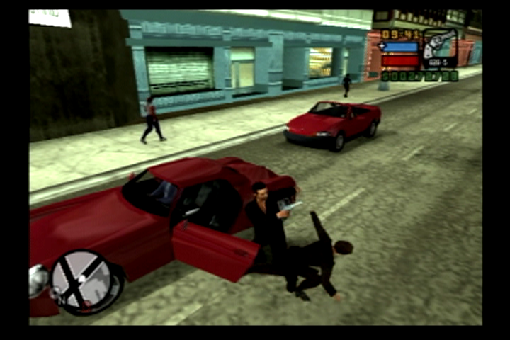 Grand Theft Auto: Liberty City Stories PlayStation 2 I'll take this ride off your hands for you.