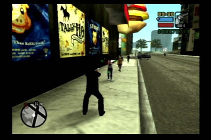 Grand Theft Auto: Liberty City Stories PlayStation 2 Stick 'em up!