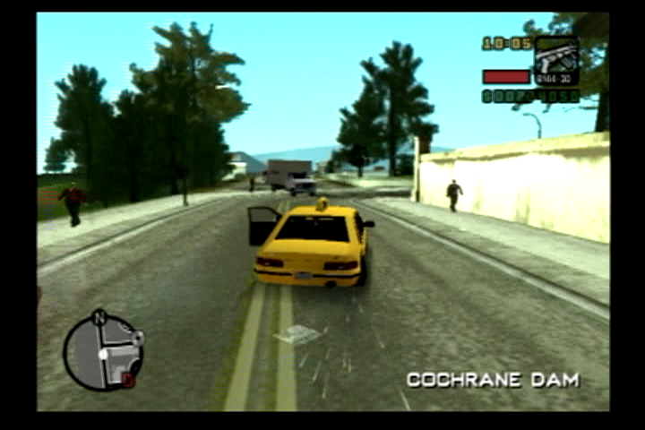 Grand Theft Auto: Liberty City Stories PlayStation 2 The ever so mundane taxi missions are still optional to play.