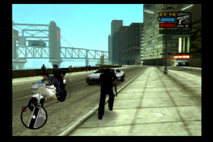 Grand Theft Auto: Liberty City Stories PlayStation 2 Fast bike or fast car?