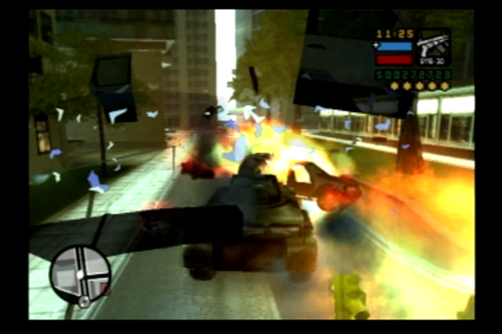 Grand Theft Auto: Liberty City Stories PlayStation 2 Acquire a tank for utter carnage.