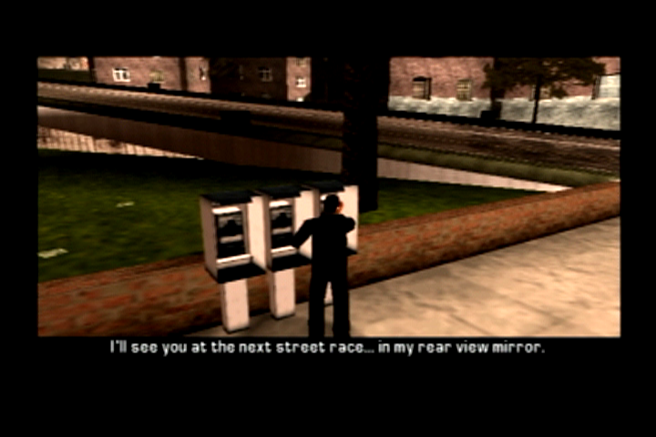 Grand Theft Auto: Liberty City Stories PlayStation 2 One of the few side racing missions.