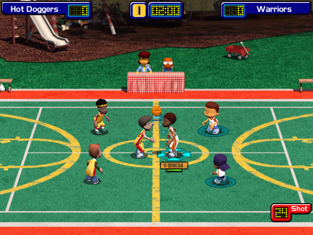 Backyard Basketball 2004 Windows Game is about to start!
