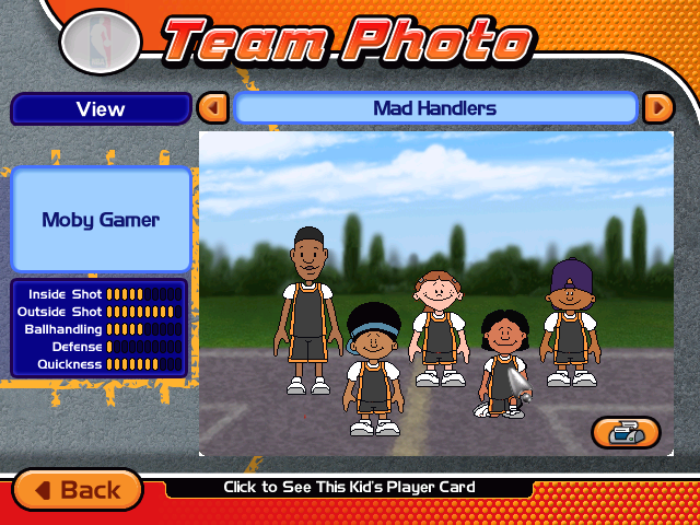 A Printable Photo Of Your Custom Team Including Your Custom Player.