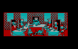 Gobliiins DOS Game introduction (CGA)
