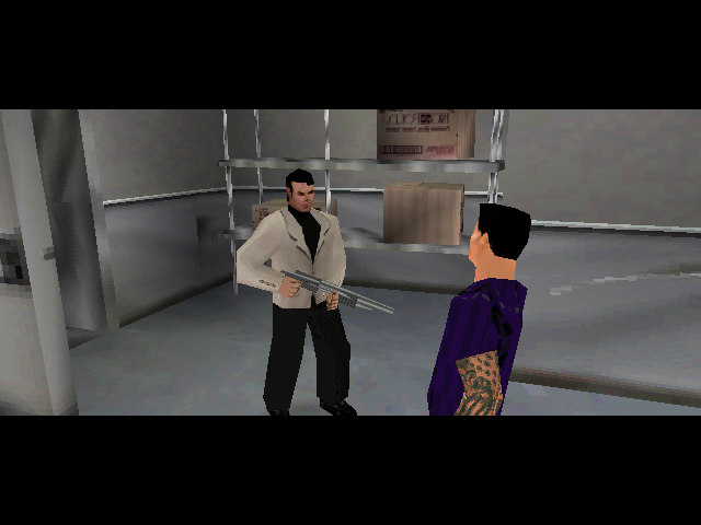 Syphon Filter 3 PlayStation Freeing a hostage.