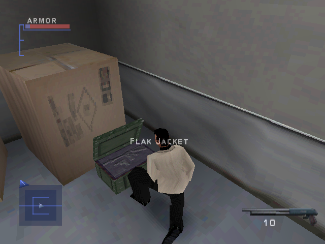 Syphon Filter 3 PlayStation Getting armor.