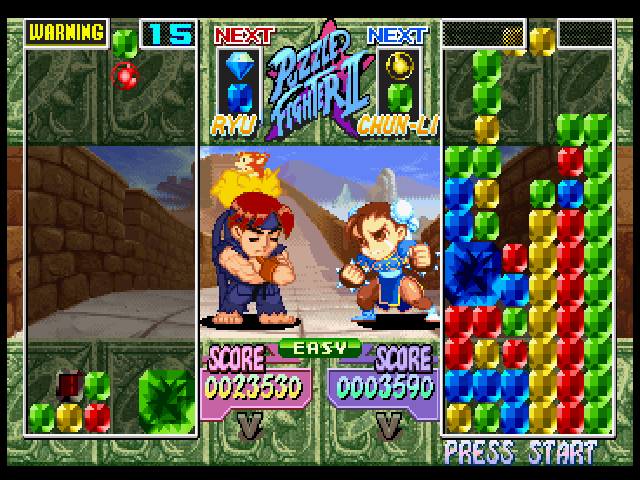 Super Puzzle Fighter Ii Turbo Screenshots For Playstation