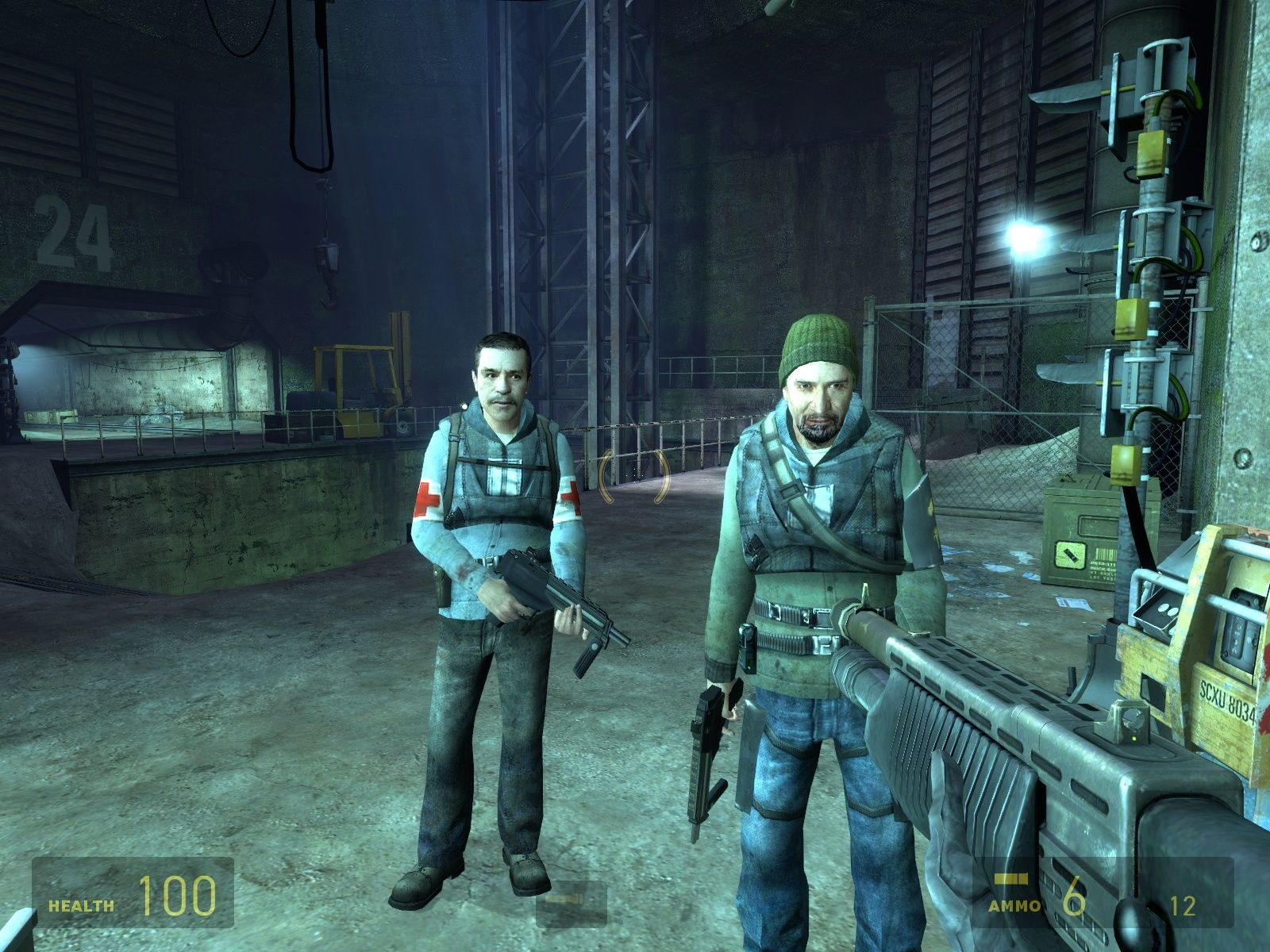 Half-Life 2: Episode Two Windows Two rather depressed friendlies.