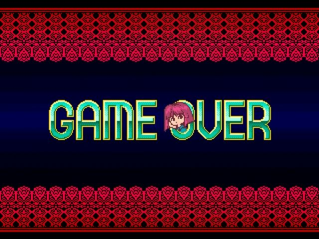 Fantastic Night Dreams: Cotton PlayStation Game over