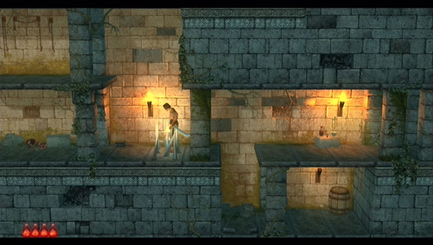 Prince of Persia Classic Xbox 360 The Prince can tiptoe through spikes.