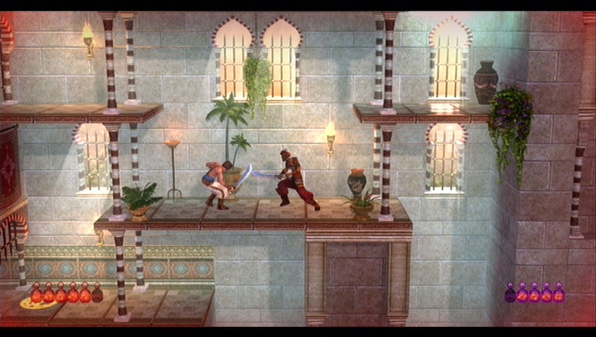 Prince of Persia Classic Xbox 360 I'm hit!