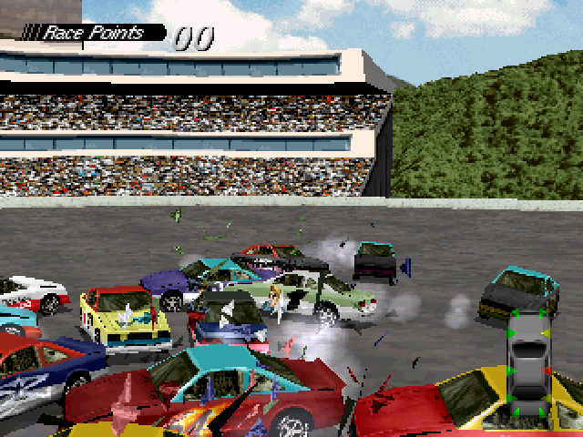 Destruction Derby PlayStation ...till someone pokes an eye out!