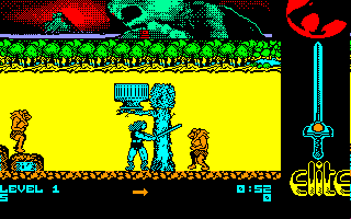 Thundercats Amstrad CPC I'll show you my sword, monsters!!!