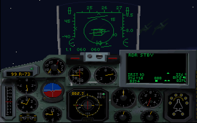 MiG-29: Deadly Adversary of Falcon 3 0 Screenshots for DOS - MobyGames