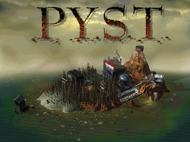 Pyst Windows Title Screen