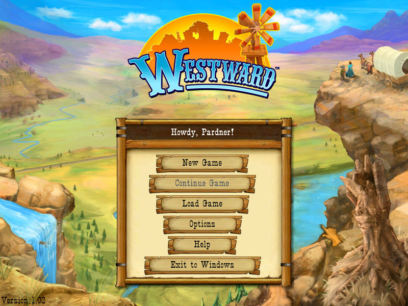 Westward Windows Start menu