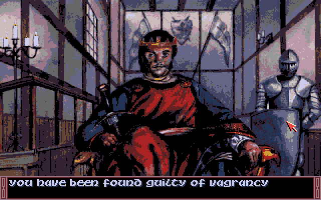 Legends of Valour Amiga You have been found guilty.