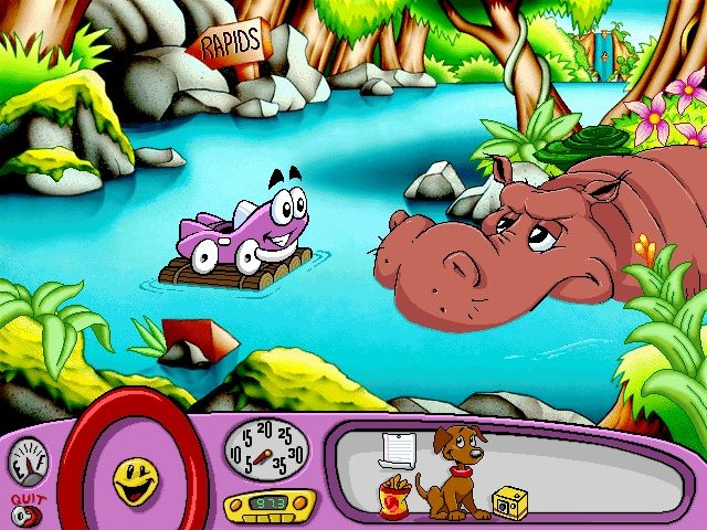 Putt Putt Saves The Zoo : Putt saves the zoo screenshots for windows mobygames