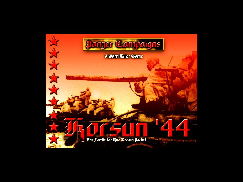 Panzer Campaigns VI: Korsun '44 Windows Title screen