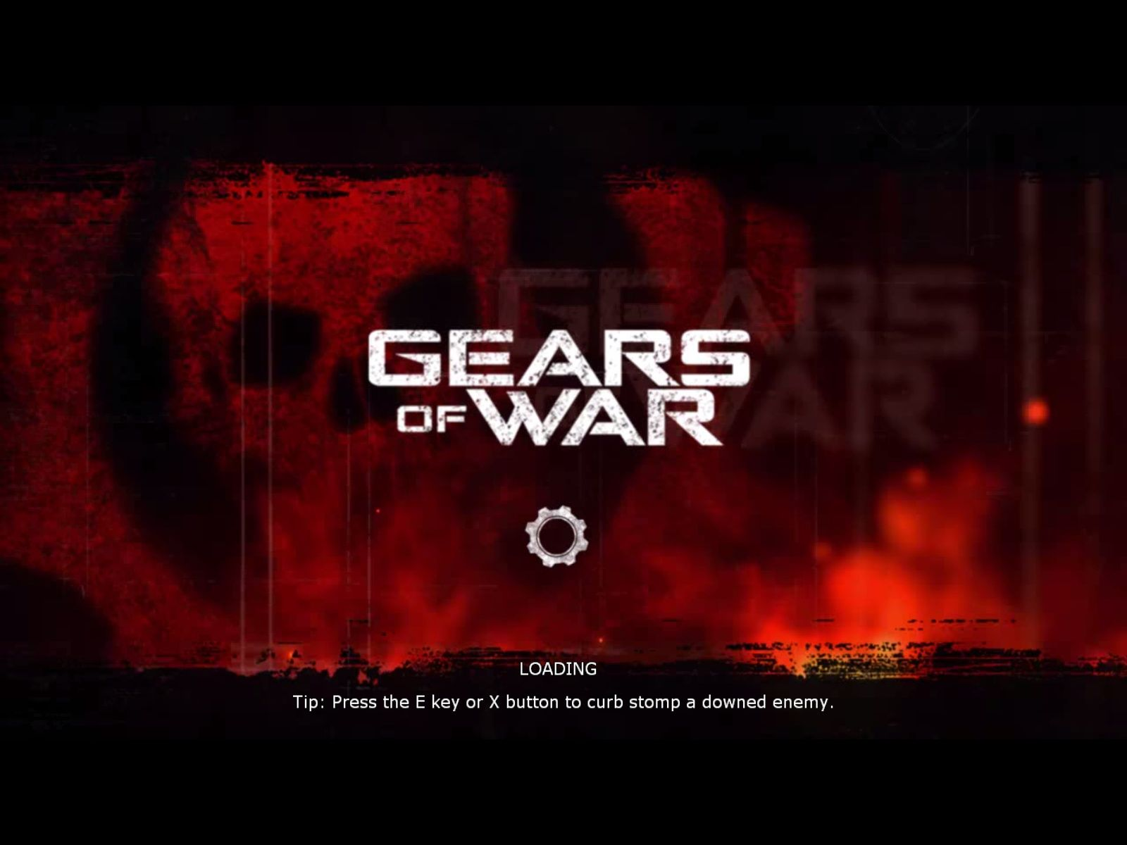 Gears of War Windows Loading screen