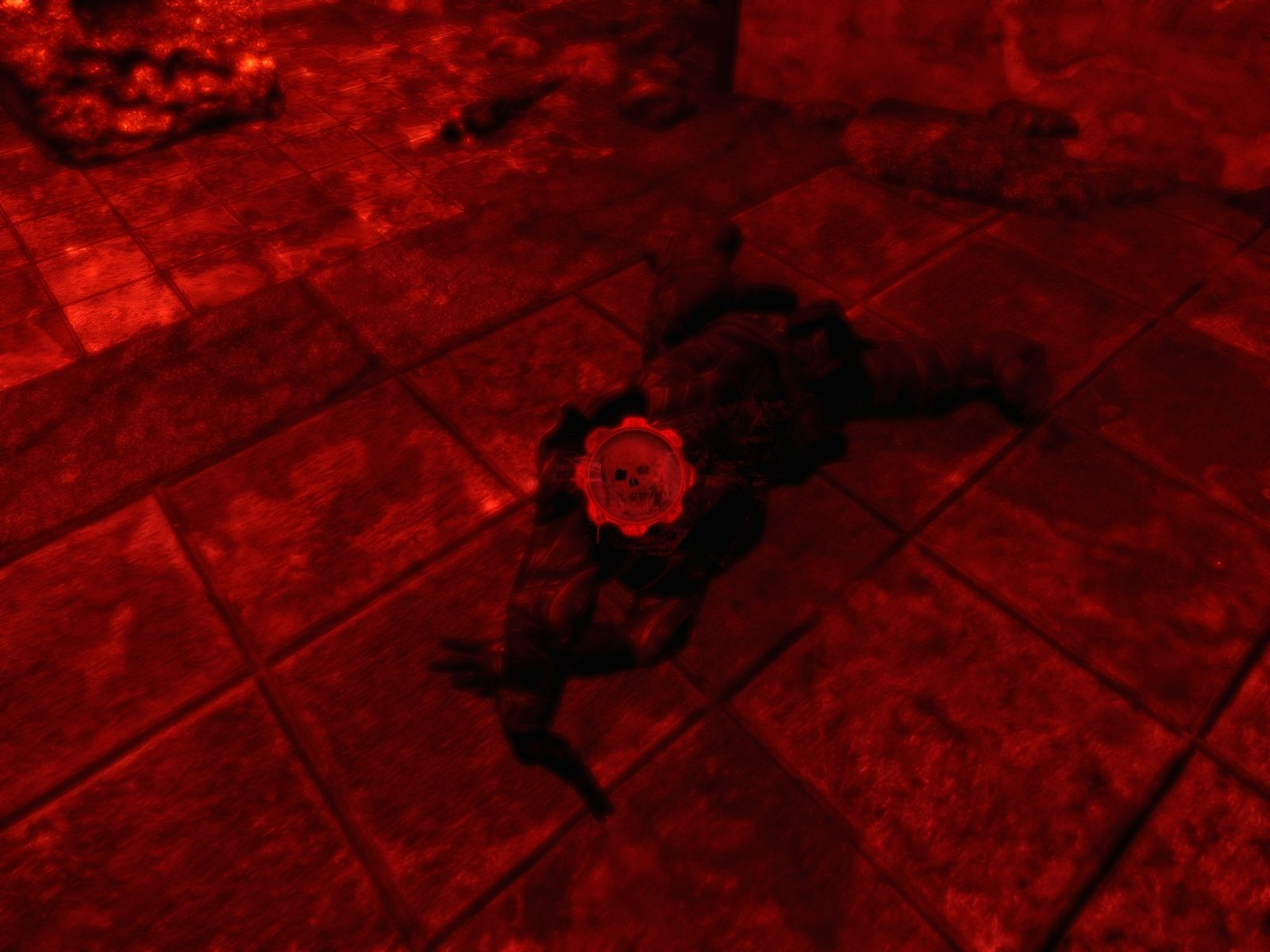 Gears of War Windows Marcus is dead - game over.