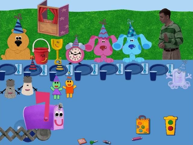 Blue's Clues: Blue's Birthday Adventure Screenshots for ...