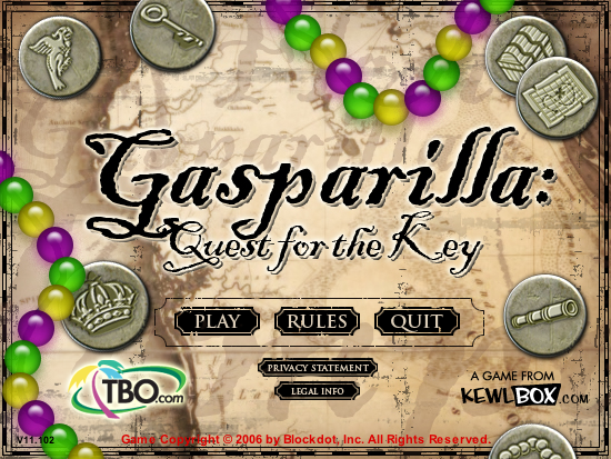 Gasparilla: Quest for the Key