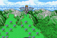 Final Fantasy V Advance Game Boy Advance Flying