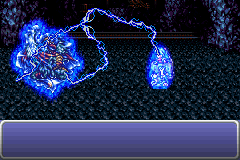 Final Fantasy III Game Boy Advance Terra resonating with the Esper.