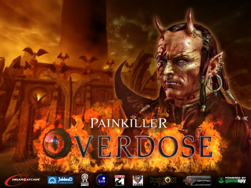 Painkiller: Overdose Windows Splash screen