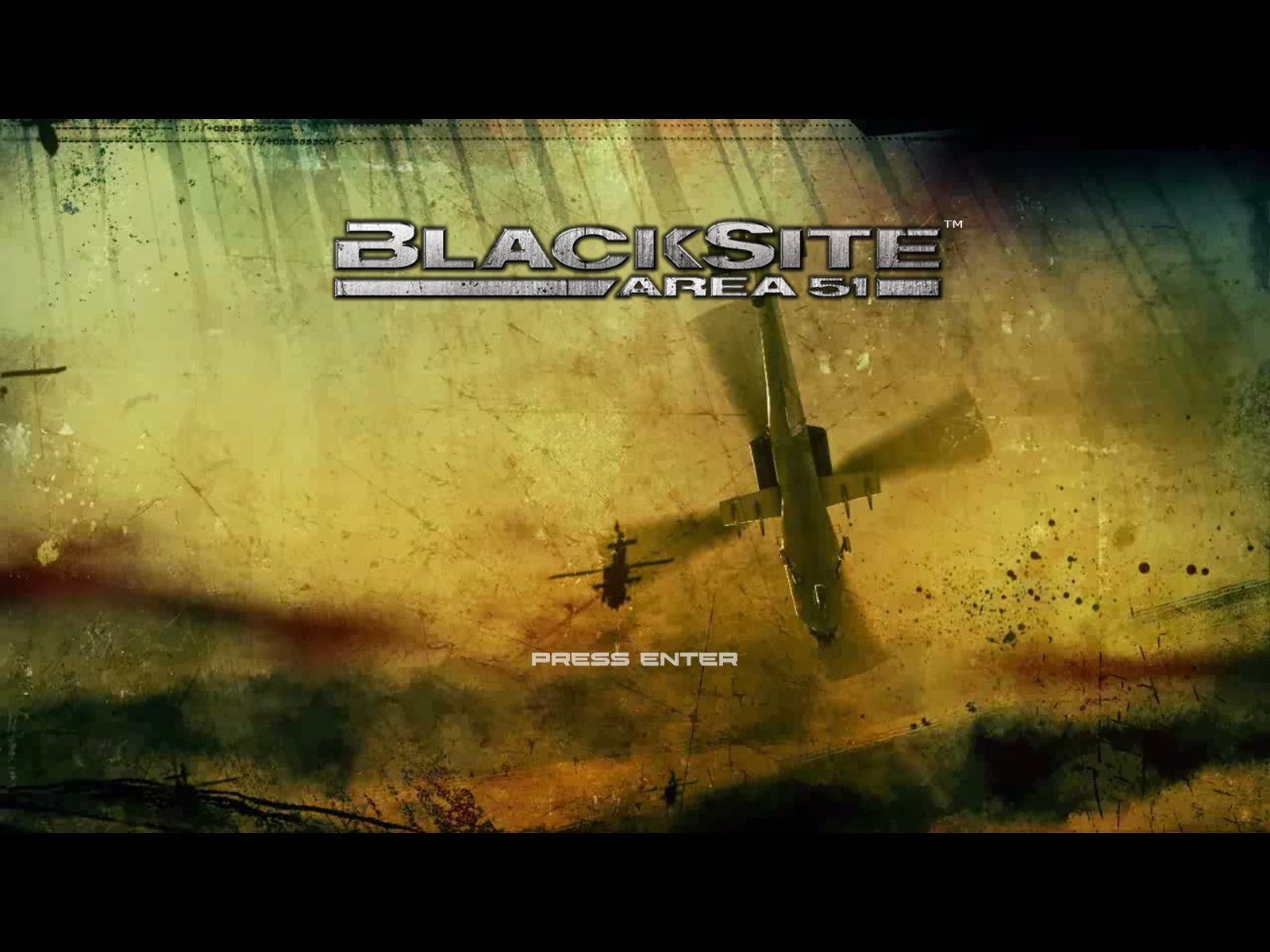 BlackSite: Area 51 Windows Splash Screen